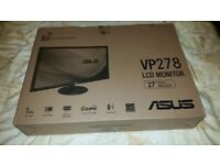 """Brand new still factory sealed Asus 27"""" VP278H LCD (gaming) monitor. (Have two of these for sale)."""