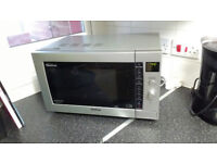 Panasonic Combination Microwave Oven Grill Silver NN-CD767 1000w