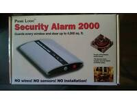 Security alarm system 2000