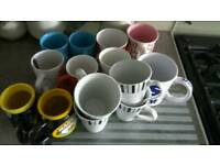 Selection of 14 mugs - free