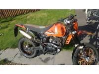 Project bike pulse adrenaline 125