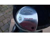 "Ladies Callaway Big Bertha War Bird Putter 33"""