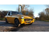 Mg midget twincam k series fast road/track day