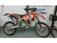 2005 KTM 525 EXC enduro bike