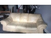 3seater 2 seater leather sofas
