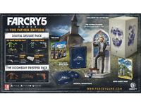 FAR CRY 5 The Father Edition IN HAND EARLY for PS4 Playstation 4