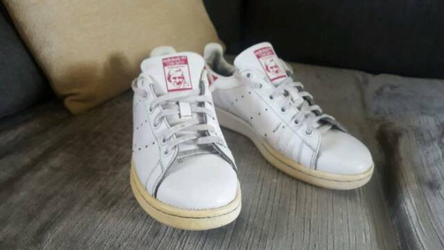 factory authentic b7b29 5fe7d Girls adidas 'STAN SMITH' Trainers size 5 | in Stevenage, Hertfordshire |  Gumtree