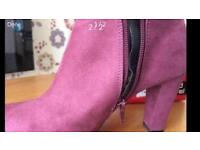 Ladies Ankle Boots Size 7....Never Worn!