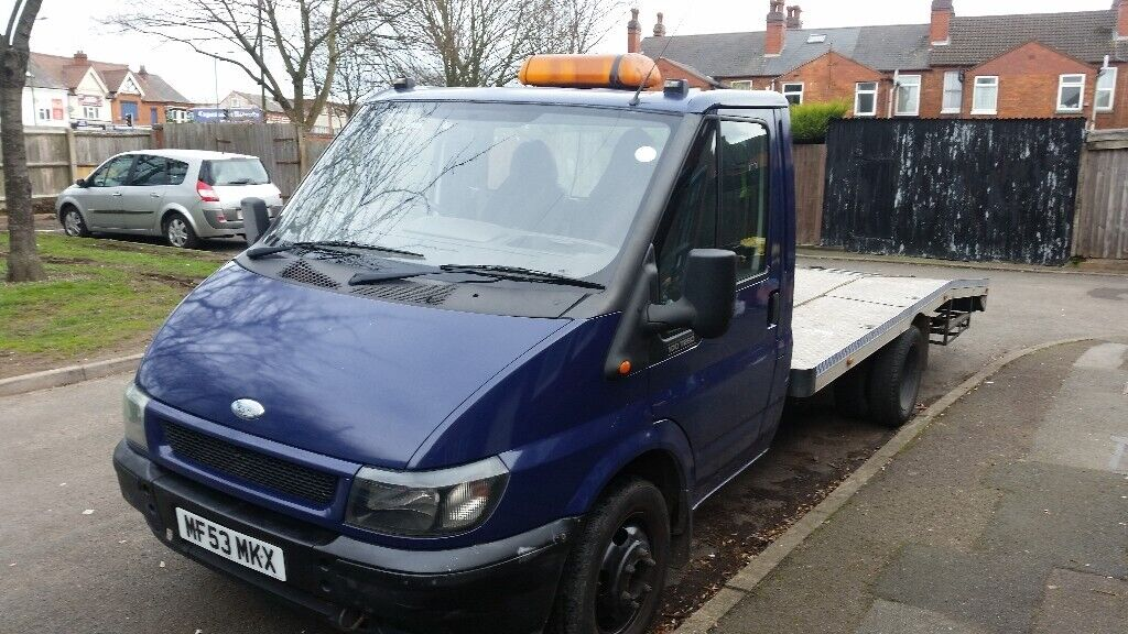 Ford transit 3 5t bevertail recovery truck   in Small Heath, West Midlands    Gumtree