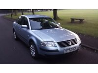 vw passat 1.9 TDI ,LOW MILEAGE 110k ,cambelt and water pump changed , very clean car