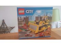 Lego 60074 City bulldozer