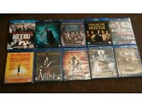 Dvds blue rays