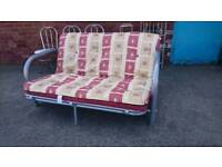 Metal Framed sofa bed - Delivery Available