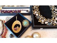 Lovely Collection of Vintage & Modern Costume Jewellery Incl Bodum and M and S