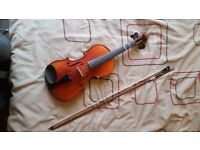 3/4 Size Violin and Case - £35