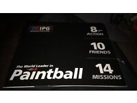 IPG Paintball session for 10 /FREE POSTAGE / OFFERS WELCOME
