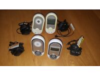 Motorola Digital Baby Monitors - 2 pairs