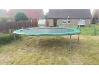 14ft Trampoline in superb condition!