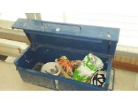 Heavy duty metal body safety tool box/ storage box