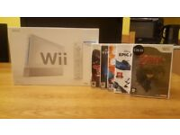 Nintendo Wii Games Console Boxed as new - With 5 games Including Zelda - Epic Micky
