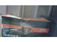 ESKDE PETROL CHAIN SAW - NEW/UNUSED SEALED BOX