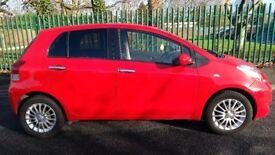 Toyota Yaris SR 2009 1.3 5 door 12 months mot, 83,000 miles,full service history,new clutch