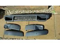 VW transporter T5 front bumper parts