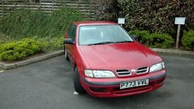 NISSAN PRIMERA VERY LOW MILEAGE, 69,520 WHOLE YEARS MOT - GREAT RUNNER