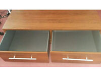 TV stand 2 big drawers Free delivery