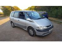 Renault Espace 2.0 16v Authentique 5dr£300 DOESN'T START WELL. 2001 (Y reg), MPV