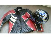 Bike jacket and helmet