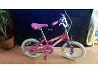Girls size 16 bicycle