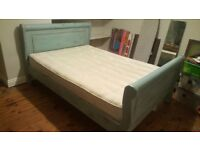 Beautiful hand painted bed with fantastic mattress
