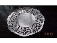 Silver Plated Cake Plate