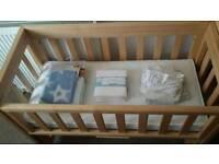 John lewis next to bed crib
