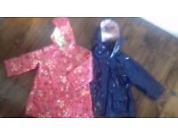 4 coats and 2 dresses - age 12-18 months