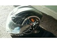 Agv helmet worn twice