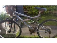 9 Gears suspension Excel Modal Mountain bike in good running condition only £45