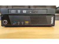 Lenovo ThinkCentre M93 Tiny USFF i3 4GB 500GB Windows 7 Professional Desktop