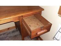 Oak Desk Antique