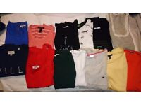 Bundles of T-shirts from Zara, Mango, Jack wills, Louche