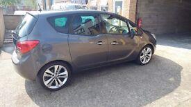 Price reduced Vauxhall Meriva 1.4 petrol low mileage