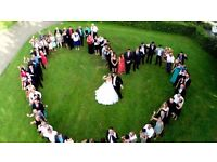 Airborne (Drone) Wedding Photography anywhere* in Hampshire from £125 for 2017!