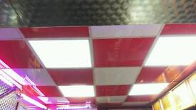 Fast food food pizza kebab shop's ceiling Led light's