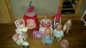 Baby Born bundle