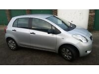 Quick sale. Toyota yaris 1.0 5door