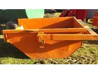 Construction Boat Skip - tele handler - crane - excavator £575 plus vat £690