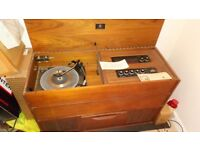 Dynatron garrard retro built in stereo record player