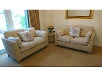 Marks & Spencer Conservatory Furniture For Sale - 2 Setees and Matching Side Table In Good Condition