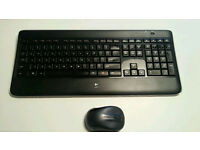 Logitech K800 Keyboard with M325 Mouse
